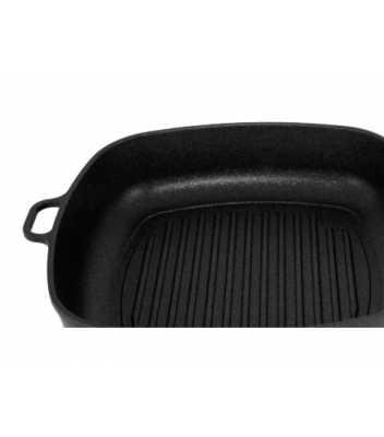 Сковорода-гриль Gigant  Newline Induction 26 см, со съёмной ручкой, для стейков 7260 руб. купить в интернет-магазине SkovorodkaClub.ru