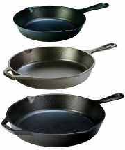 Набор чугунных сковород Lodge, 20, 26 и 30 см