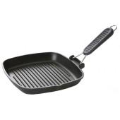 Сковорода-гриль Risoli, 26 см, складная силиконовая ручка, для стейков