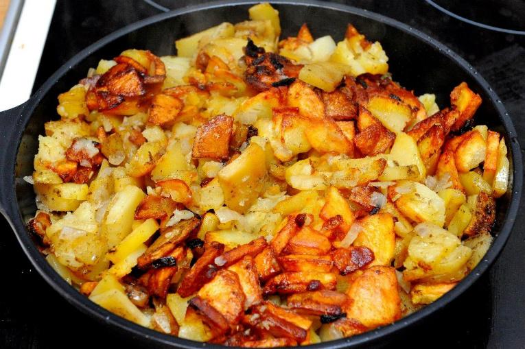 Что может быть лучше жаренной картошки